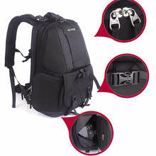 Careell C1013 DSLR Camera Bag High Quality Backpack Professional Anti-theft Outd