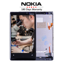 No Dead Pixels Original For NOKIA Lumia 920 LCD Touch Screen with Frame For NOKIA Lumia 920 Display Digitizer Replacement