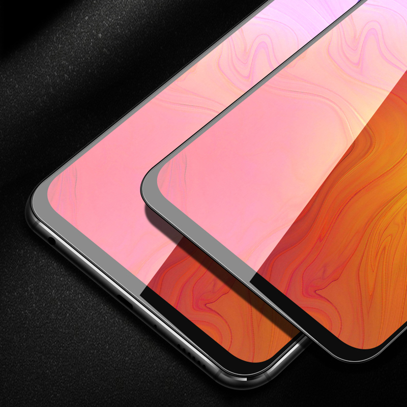 Image 5 - Lenovo Z6Pro Tempered Glass Screen Protector film 9H 2.5D Full Glue Full Cover Mofi Original Premium lenovo z6pro Tempered Glass-in Phone Screen Protectors from Cellphones & Telecommunications