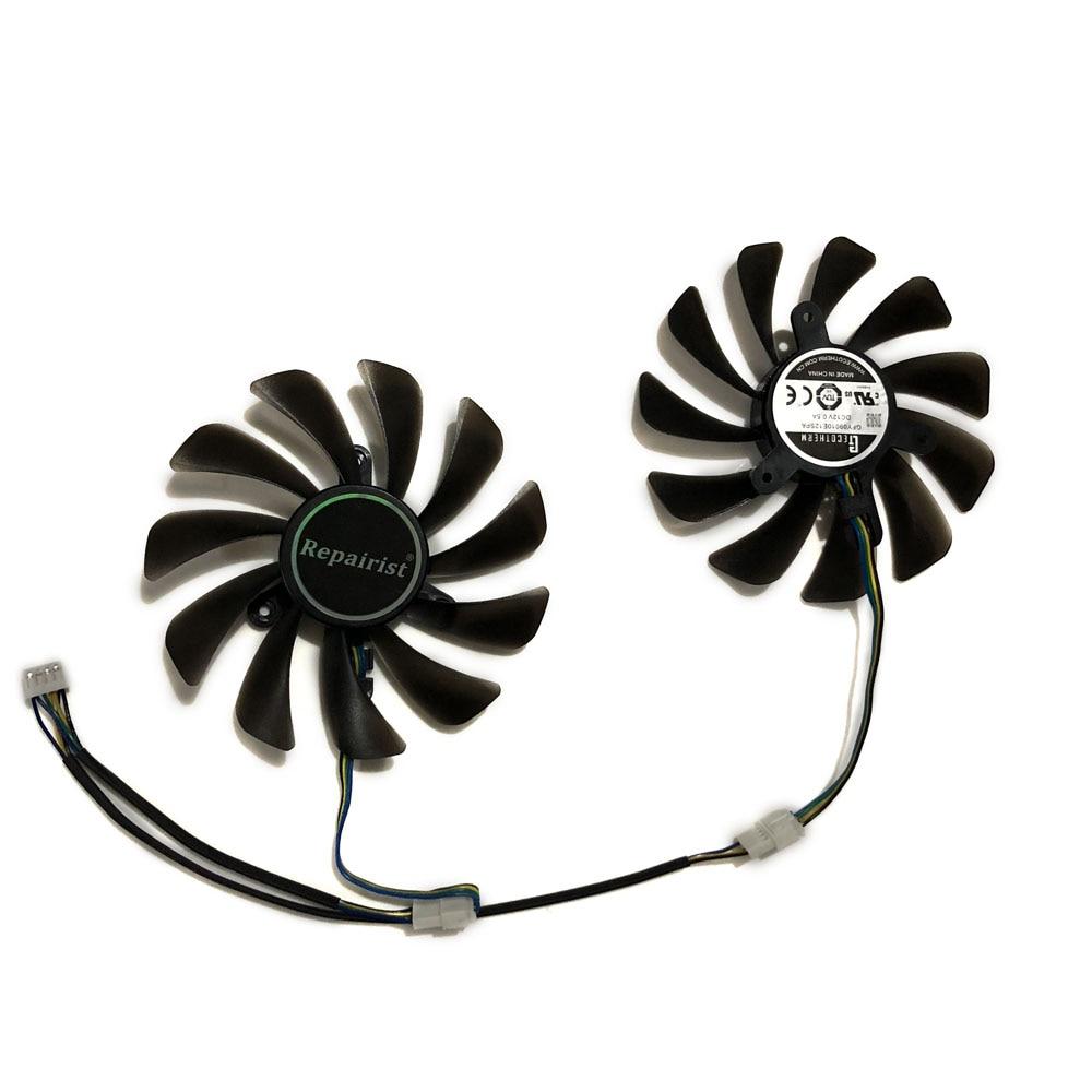 все цены на ZOTAC GeForce GTX 1070 Ti AMP Edition GPU VGA Cooler Cooling Fan For ZOTAC GeForce GTX 1070 AMP Core Video Cards As Replacement