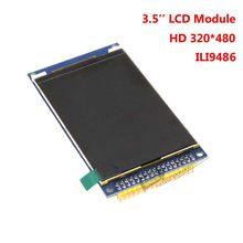 3.5 polegada 320 X 480 TFT módulo Display LCD w. Sd Slot PCB ILI9486 unidade IC para Arduino STM32 C51 demonstração