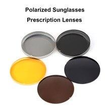 Hotony 1.499 gafas de sol polarizadas de CR 39 lentes ópticas graduadas para conducir, para pescar UV400 lentes polarizadas antirreflejos