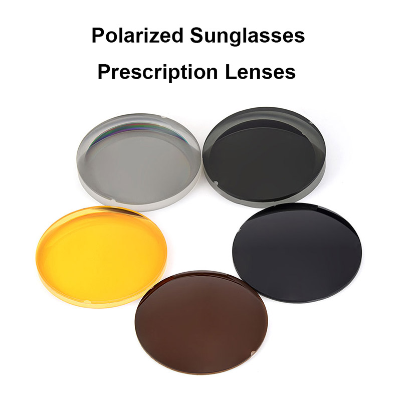 Logorela 1.499 CR 39 Polarized Sunglasses Prescription Optical Lenses For Driving Fishing UV400 Anti Glare Polarized Lenses-in Eyewear Accessories from Apparel Accessories