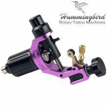 Original Hummingbird Purple Gen 1 Rotary Tattoo Machine Swiss Motor Free RCA Cord