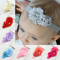 Hot High Recommend Baby Girl Headband Infant Chiffon Headdress Faux Pearl Hairband Hair Accessories 5BYY 7FQY