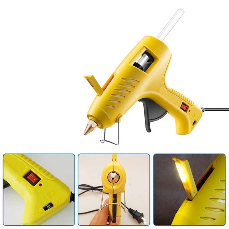 150W Hot Melt Glue Tool With Free 1Pc 11Mm Stick Heat Temperature Tool Industrial Tools Thermo Glue Repair Heat Tools For Home