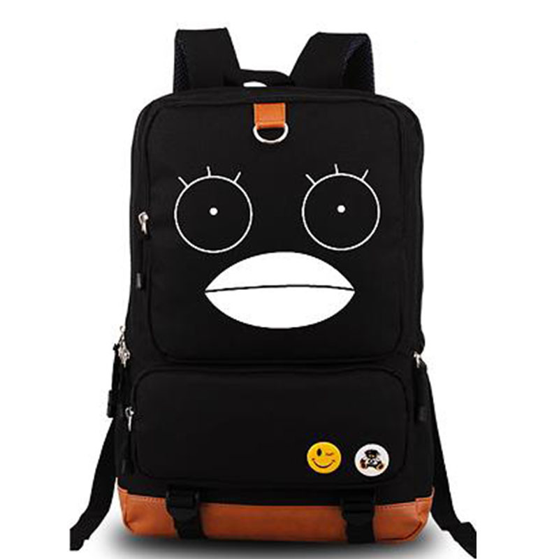 New Arrival 2017 Fashion Gintama School Bags Anime Backpack Men Rucksack Laptop Backpacks Casual School Bag Mochila sosw fashion anime theme death note cosplay notebook new school large writing journal 20 5cm 14 5cm