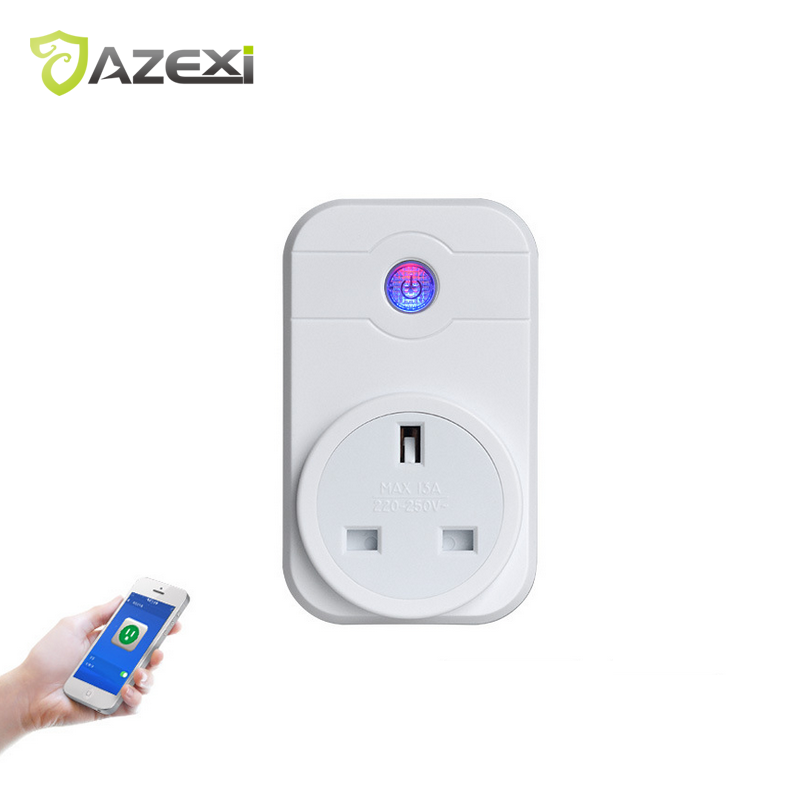 New Smart Socket Remote Control Electrical anywhere anytime Support Alexa Google Home via Volume Control Certificate CE ROHS FCC ...