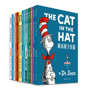 Dr. Seuss Bilingual Classical Picture Book  Full Set of 15 Volumes of 7-10 Year Old Simplified Chinese and English Paperback - DISCOUNT ITEM  0% OFF All Category