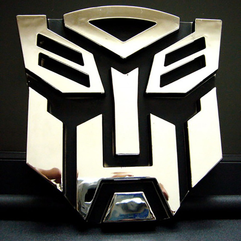 3D Car Sticker Metal Transformers For Car Auto logo Window Tail for Car Decoration Car Styling