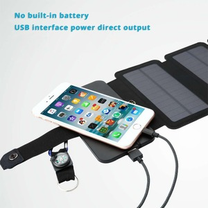 Image 5 - Hoge Kwaliteit Sunpower opvouwbare Zonnepanelen cellen 5 v 10 w Draagbare zonne mobiele lader voor telefoon outdoor camping
