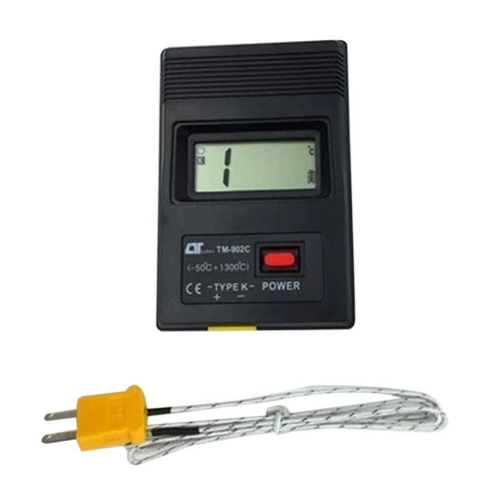 1PC TM-902C compteur de température thermomètre numérique capteur Thermocouple sonde détecteur-50C à 1300C