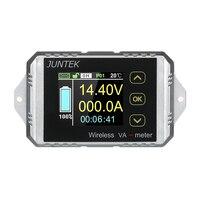 JUNTEK DC 0.01 100V 0.01 30A Multifunctional Wireless Digital Bi directional Voltage Current Power Meter Ammeter Voltmeter