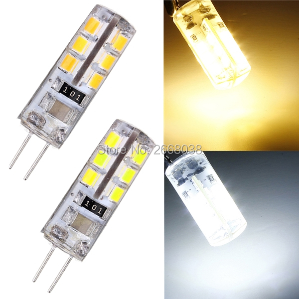 4pcslot G4 1W 24 LED 2835 SMD Cool White Warm White Energy Saving ...