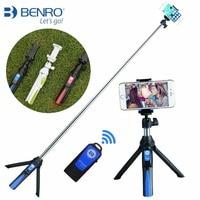 BENRO MEFOTO MK 10 Handheld Mini Monopod Selfie Stick Self Portrait Extendable Bluetooth Remote For Iphone