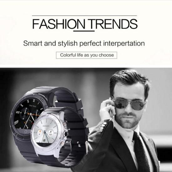 1.54'' Inch 4.0 Bluetooth Smart Watch Waterproof Smartwatch Calories WristWatch SIM Card For Android Samsung HTC LG iPhone iOS
