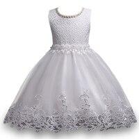 Letnia sukienka kwiat wzór dziewczyny wysokiej jakości 3-10 lat Księżniczka sukienki dziewczyny suknia ślubna dziewczyna birthday party dress
