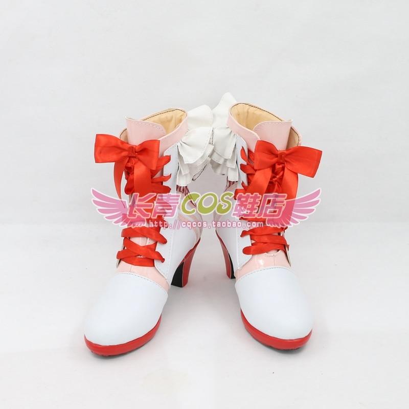 Lovelive! after school ACTIVITY Kousaka Honoka Minami Kotori Sonoda Umi Ayase Eli Cosplay boots shoes customize any size 5819