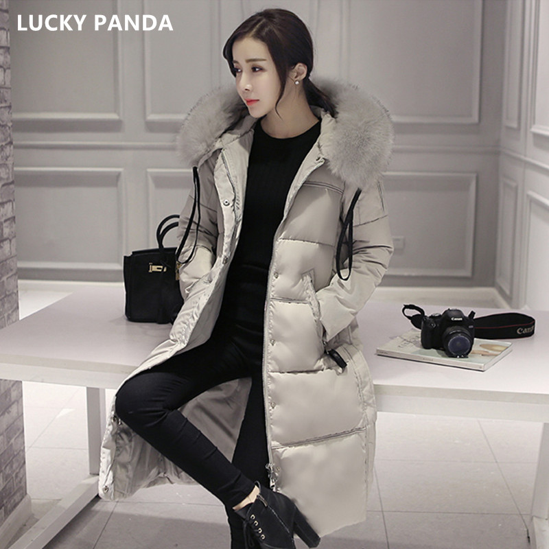 Lucky Panda 2016 winter coat women warm outwear Thin Padded cotton Jacket coat Women's Clothing new fashion cotton down LKP331 mozhini women spring autumn parkas lady long warm jacket padded warm jacket winter coat warm outwear thin padded cotton jacket