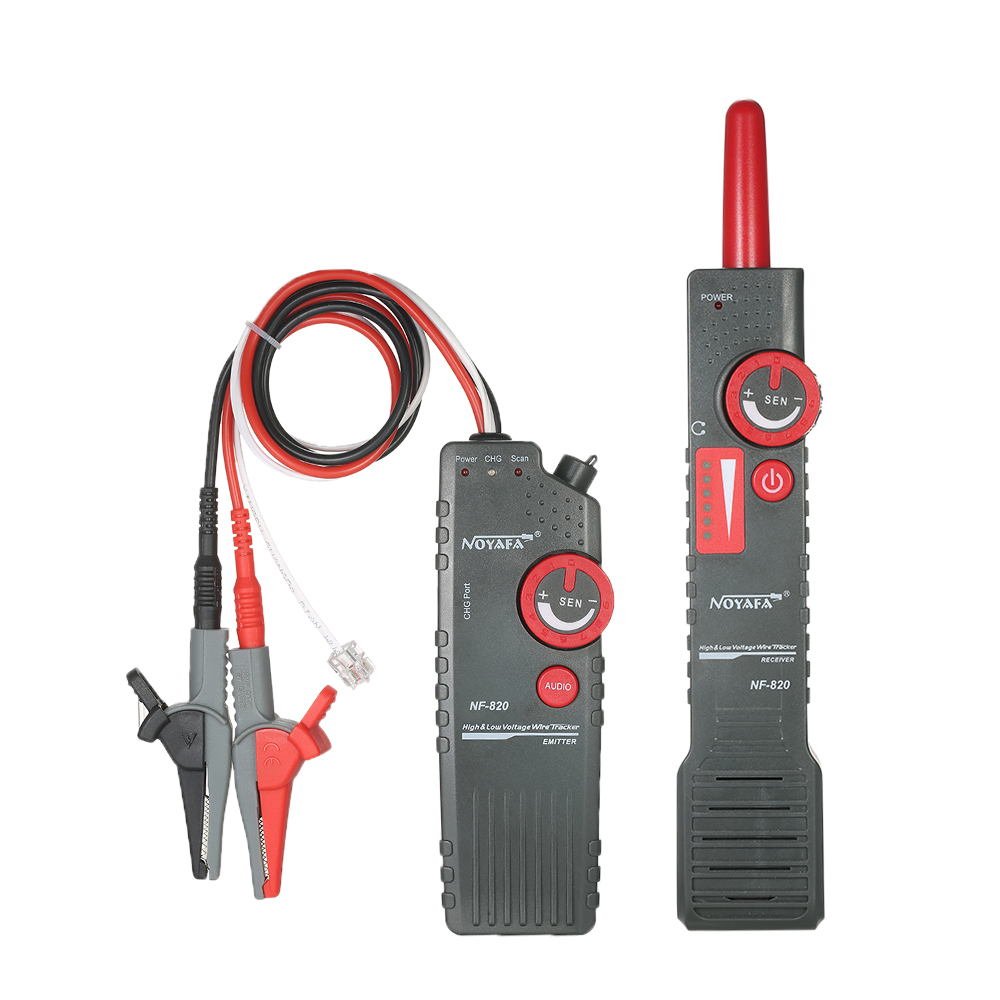Multi-functional High & Low Voltage Wire Tester Hand-held RJ11 RJ45 BNC Cable Wire Testing Tool AC110-220V Lan Network testing