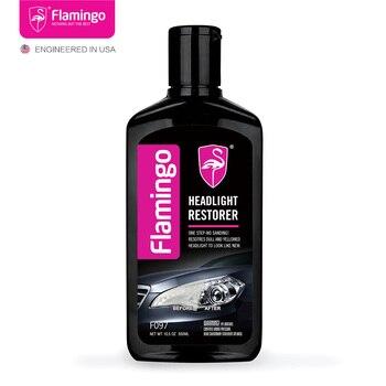 цена на 300ml Car Headlight Restorer Headlamp Polish Light Cleaner Lamp Lense Brightener Headlight Restoration  Kit For Auto 10.5OZ