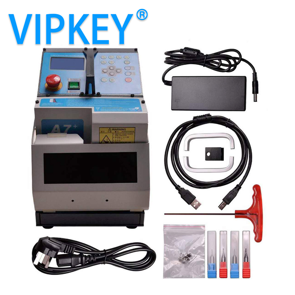 2018 Miracle A7 Auto Locksmith Tool CNC automatic key cutting Machine same as Miracle A9 Key