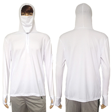 Fishing Hoodie with Face Protection