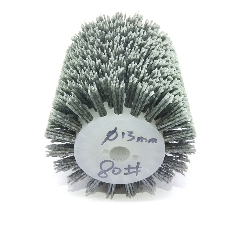 New 4pcs/lot 120*100*13mm Nylon Abrasive Bush Polishing Wheel 80-400# Electric Brush For 9741 Wheel Sander  Woodworking
