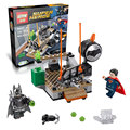 07017 LEPIN 106 unids Edificable Batman Vs Superman Building Blocks Set Marvel Super Heroes Figuras juguete Compatible