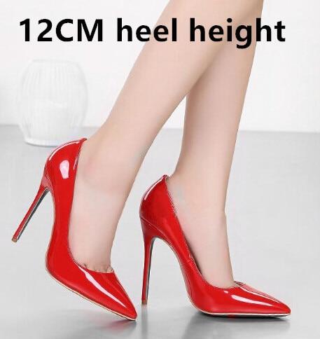 Товар Brand 12CM High Heels Shoes Woman High Heels Pumps Wedding ... e4c882a15a50