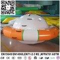 Spinner Flotante inflable/Inflable Saturno Rocker Para Parque Acuático Juegos