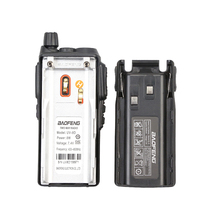 baofeng uv 100% מקורי 8W Handfree Baofeng UV8D מכשיר הקשר KM UHF 400-480MHz Comunicador רדיו ניידת UV8D Interphone UV-8 (3)