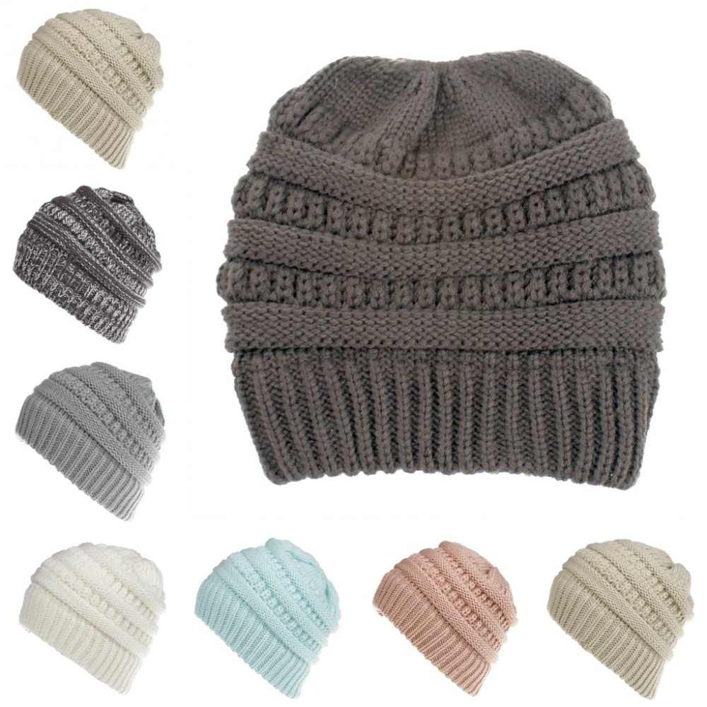 c1b59139a9992 Chunky Soft Stretch Cable Knit Warm Fuzzy Lined Skull Beanie 100% Acrylic  Hats Men And