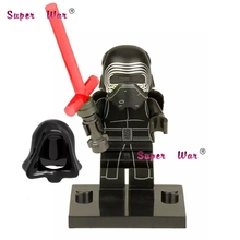 Star Wars Force Awakens Minifigure Kylo Ren Custom Minifig