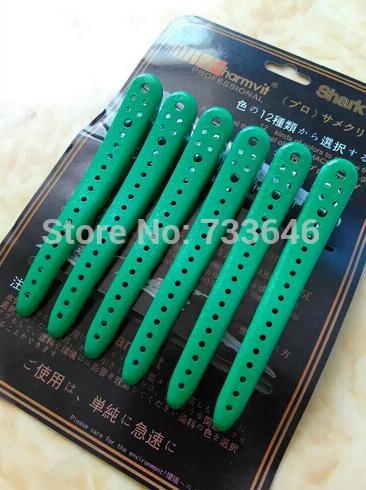Nuevo 6pcs Metal Hair Clips Salon Pins Grips Hairpins herramientas de - Cuidado del cabello y estilo - foto 5