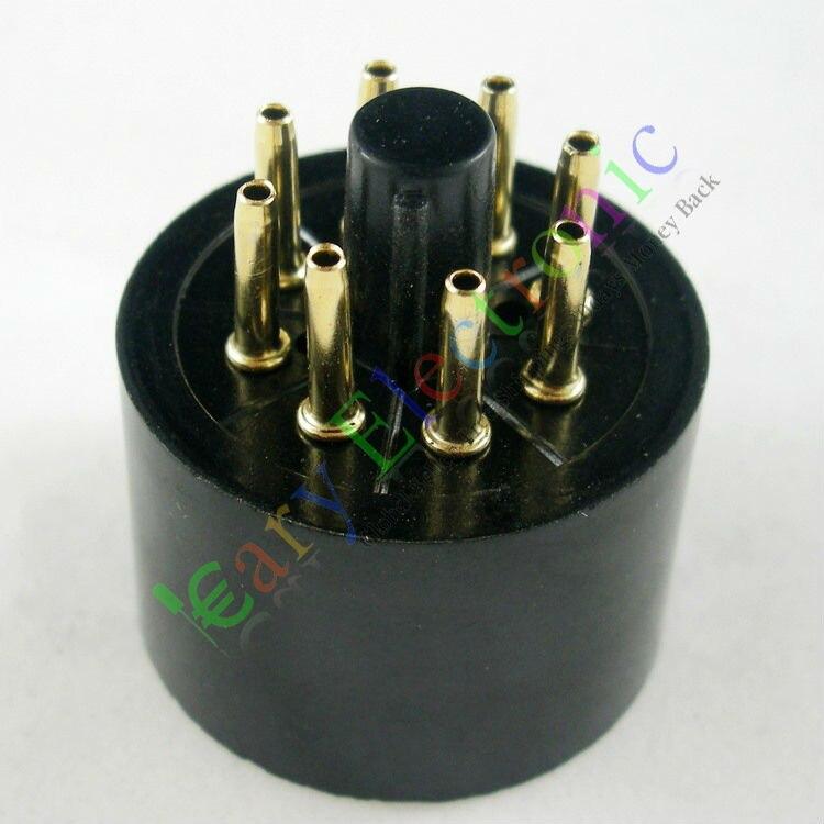 도매 및 소매 60pc 골드 8pin 베이클라이트 튜브 소켓 - 휴대용 오디오 및 비디오