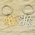 monogram keychain monogram pandant alloy key chain personalized jewelry monogram jewelry monogram charm