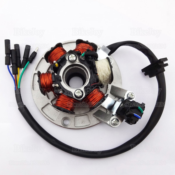 Aliexpress.com  Buy YX140 Magneto Stator Kit with Light Wiring for YX 140cc Pit Dirt Bike PitsterPro Stomp Thumpstar SDG GPX SSR Motorcycle from Reliable ...  sc 1 st  AliExpress.com : pit bike stator wiring - yogabreezes.com