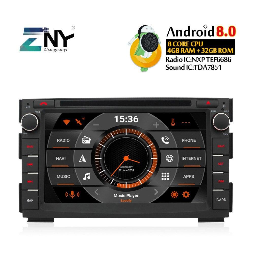 7 IPS Android 8.0 auto-radio GPS Pour Kia Ceed 2009 2010 2011 2012 dvd de voiture Stéréo FM Navigation Audio Vidéo livraison caméra de recul