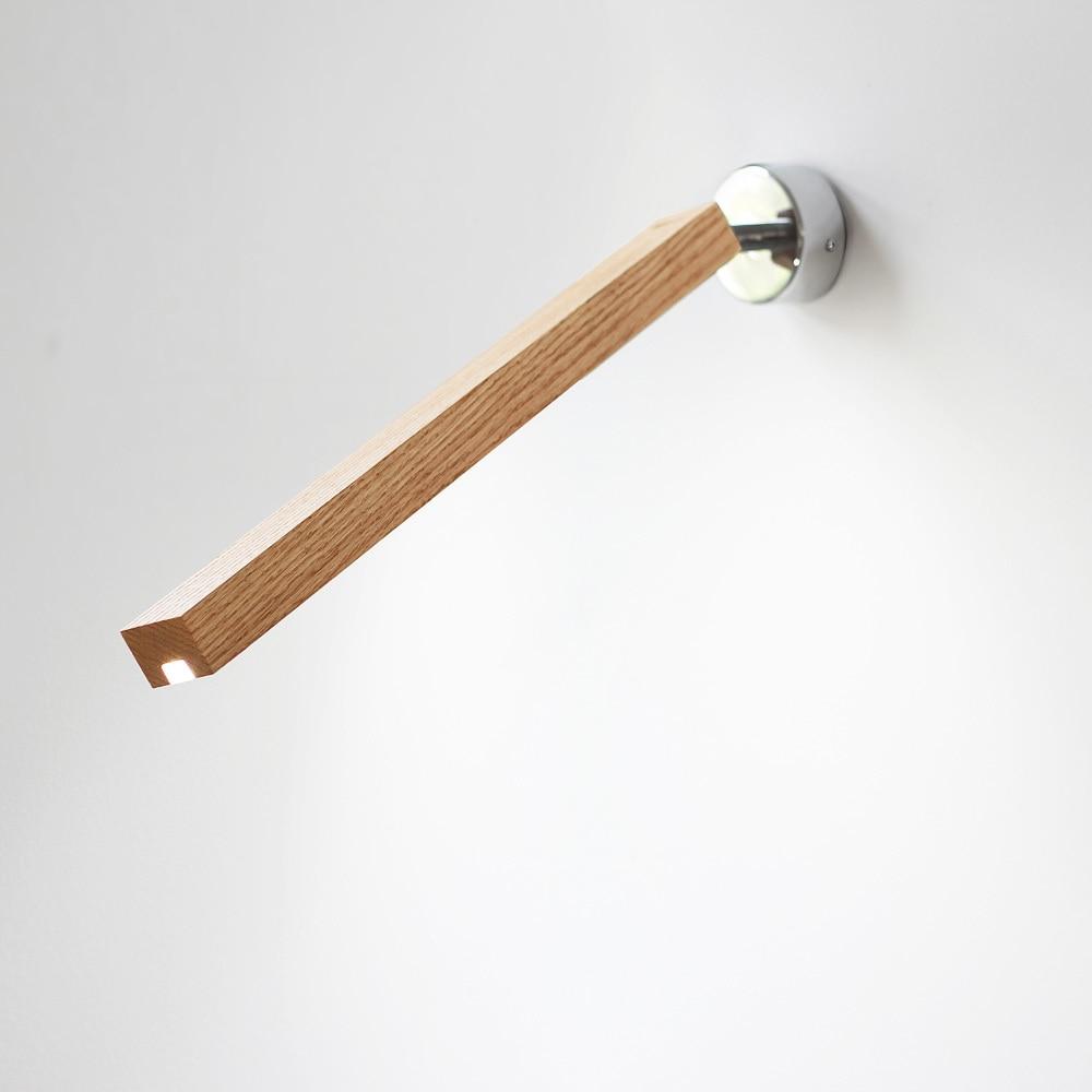 Дерево светодиодный светильник настенный творческая гостиная лампы ночники свет в спальне современный деревянный настенный светильник ...