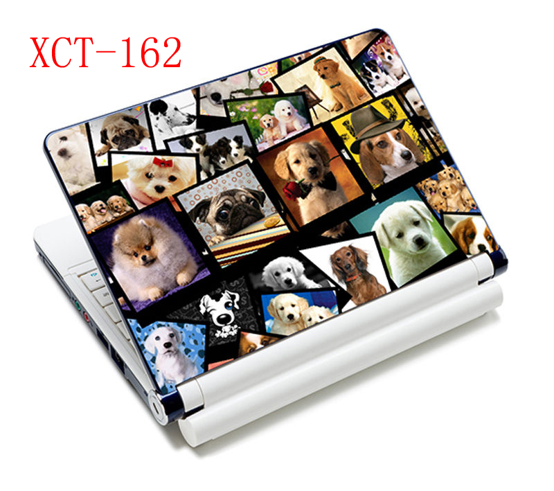 Lovely Dogs design 15 <font><b>15.6</b></font> 14 13 13.3 <font><b>Laptop</b></font> <font><b>Skin</b></font> for Notebook <font><b>laptop</b></font> Sticker for hp/sony/sumsung/xiaomi /<font><b>asus</b></font> Cover Decel image