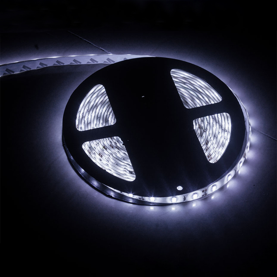 Ribbon Led Light IP65 IP20 White Warm White Led Strip 12V 5730 5M 300 Leds Flexible Strip Light Brighter Than 5630 SMD Tape
