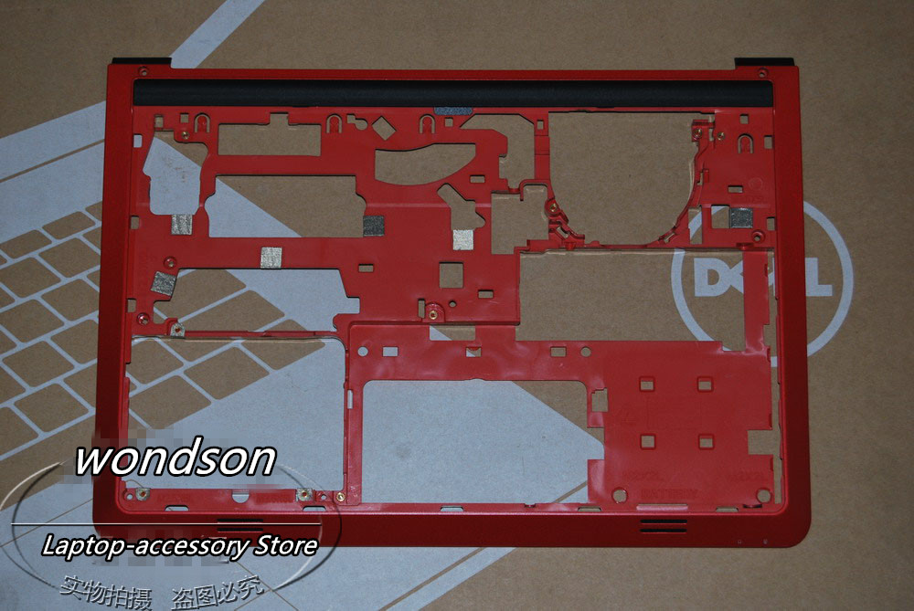 Free Shipping For Dell Inspiron 14 5000 5447 Bottom Base Cover Red CN 0DT1VR DT1VR w/ 1 Year Warranty