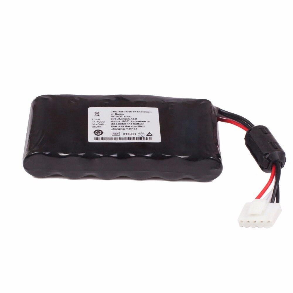 3240mAh New Vital Signs Monitor battery for FUKUDA DENSHI FX-8222 BTE-001 FCP-8221 medical battery for fx 8222 fx 8322r fcp 8321 fcp 8453 fx 2111 fcp 2155 8 hraafd ekg machine
