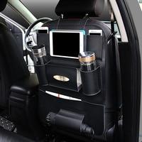 Universal Car Seat Organizer Auto Back Seat Bag Storage Accessories For Bmw E46 Peugeot 3008 Volvo