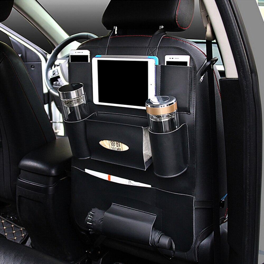 Universal Auto Sitz Organizer Auto Rücksitz Tasche Lagerung Zubehör für bmw e46 peugeot 3008 volvo s60 toyota c- hr audi q5 etc.