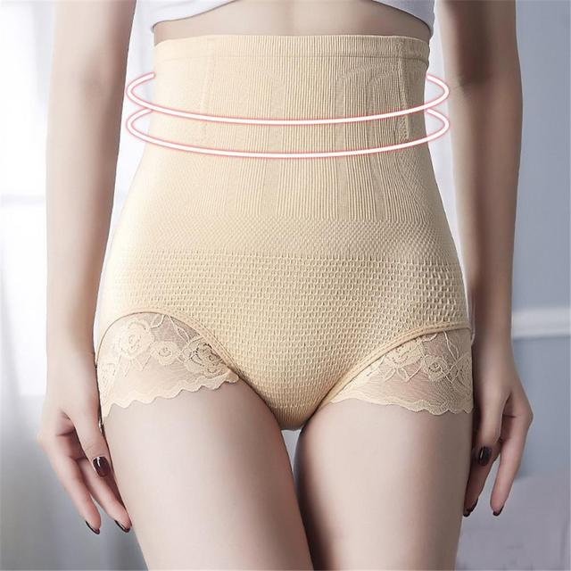 c52069ccc Postpartum Abdomen Underwear High-Waist Hip-Lifting Body-Shaping Briefs  Tighten Abdominal Hips Waist Seamless Panties For Women