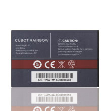 100% New Original Cubot Rainbow Battery 2200mAh Replacement For Cubot Rainbow Smart Phone+In Stock +In stock