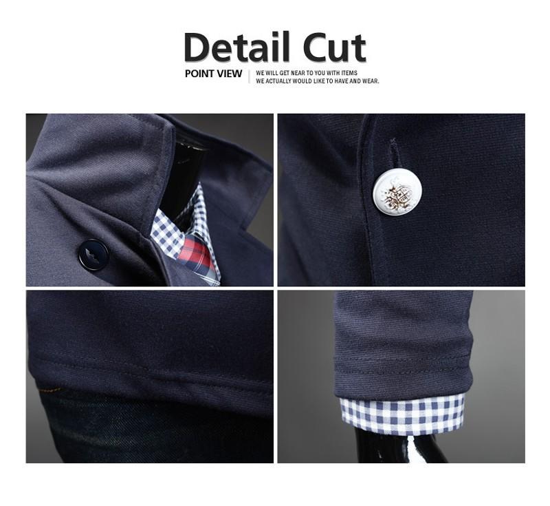 терно masculino спортивные мода марка британский стиль мужские двойной грудью уменьшают подходящий свободного покроя костюмы для мужчин пиджак плащ мужская пиджаки костюм