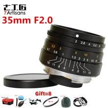 7artisans 35mm F2 Large Aperture paraxial M mount Lens for Leica Cameras M M M240 M3 M5 M6 M7 M8 M9 M9P M10 lens 35 2
